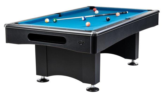 Optimal für Einsteiger - Der Pool-Billard-Tisch Black-Pool -