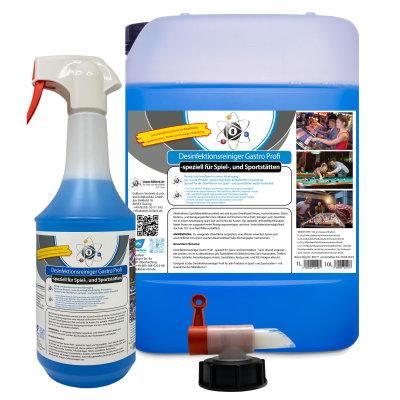 Reinigen und desinfizieren in einem Schritt - mit diesem Produkt möglich - Desinfektionsreiniger