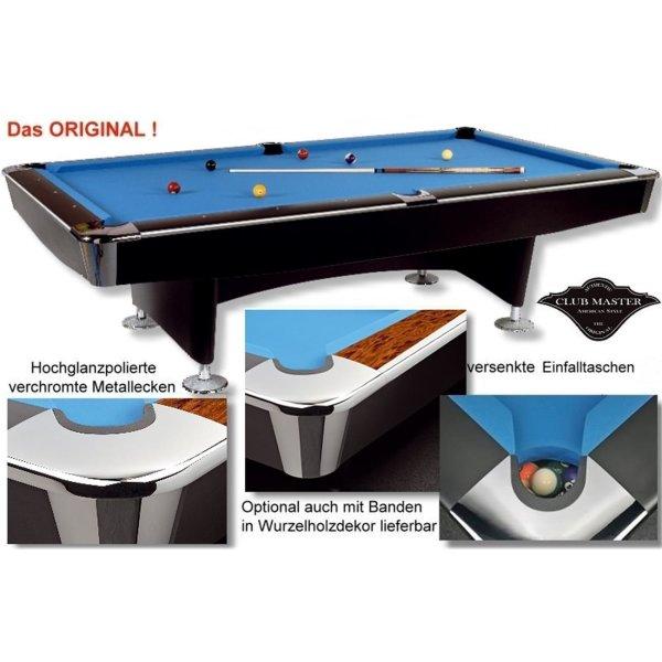 Pool-Billardtisch Club-Master - DAS ORIGINAL