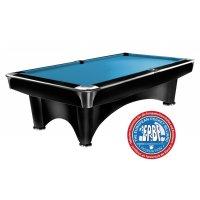 Billardtisch Pool Dynamic III matt-schwarz
