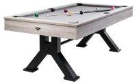 Pool-Billard-Tisch NEWLINE, 5-Fuß, Altweiß,...