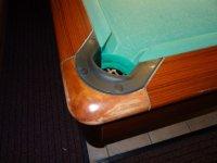 Pool-Billardtisch, gebraucht. Gabriels 9-Fuß
