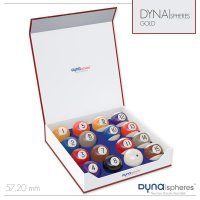 Dynaspheres Pool-Kugeln, 57,2mm, Gold Edition, inkl....