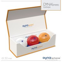 Dynaspheres Karambolage-Kugeln, 61,5mm, Platinum Edition,...