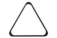 Robertson-Dreieck, Pool, Holz, schwarz, 57,2 mm