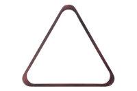 Robertson-Dreieck, Pool, Holz, mahagoni, 57,2 mm