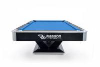 Pool Billardtisch, Rasson Victory II Plus in schwarz