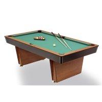 Pool-Billardtisch LUGANO, 6-Fuß, mit Werkstoffplatte