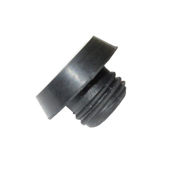 Gummifuß Flach D:15 mm L: 10 mm