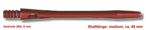 Shaft Alu medium ,ca.45 mm ,rot