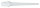 Softspitzen Keypoint-Spezial 1000 St weiß 2BA