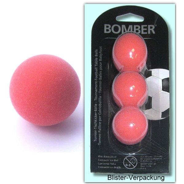 Kickerball Bomber Robertson rot 3 St.-Set