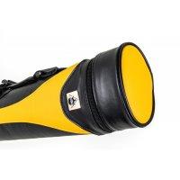 Queueköcher, Style SY-1, gelb-schwarz, 2/2, 85 cm
