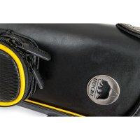 Queueköcher, Bear schwarz-gelb, 2/4, 85 cm