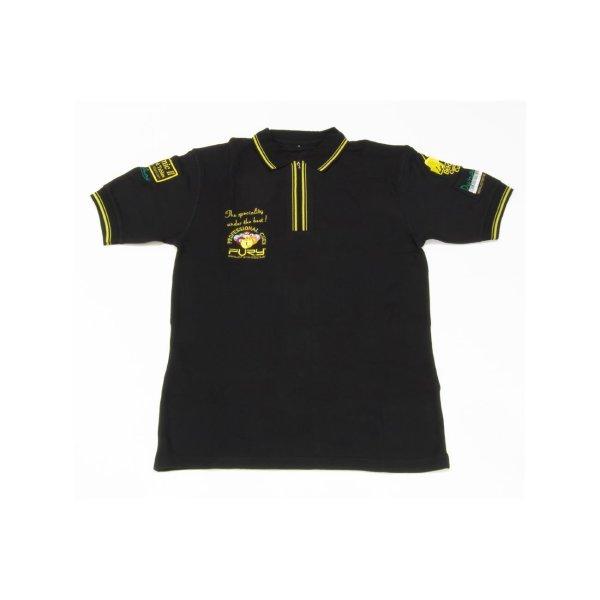Polo-Shirt Dynamic, schwarz, M