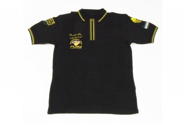 Polo-Shirt Dynamic, schwarz, XL