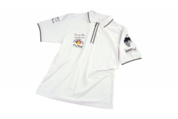 Polo-Shirt Dynamic, weiß, L