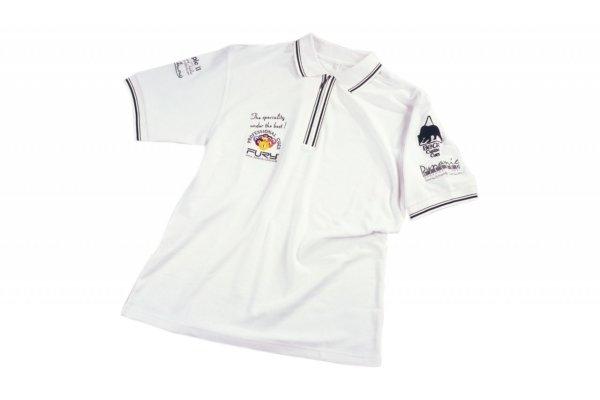 Polo-Shirt Dynamic, weiß, XL