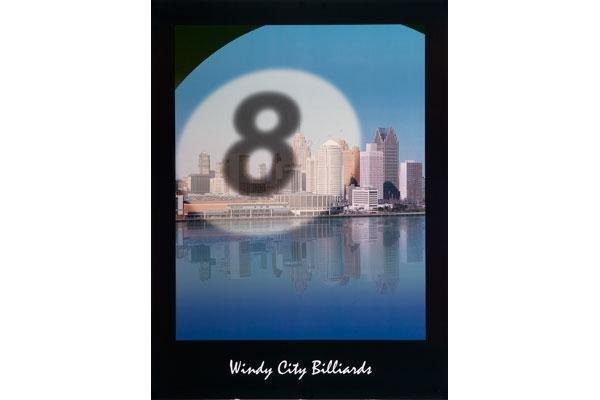 Poster, Windy City Billiards