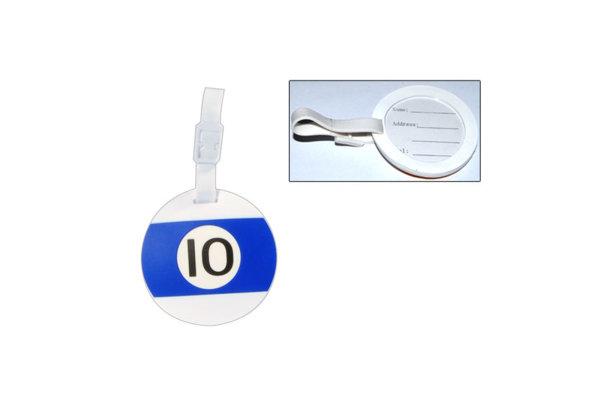 Adressanhänger für Koffer, Nr. 10, KA-10