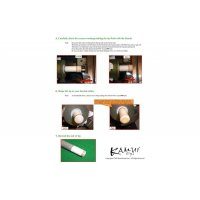 Klebeleder Kamui Clear Black, 13 mm, soft (S), 8 Schichten