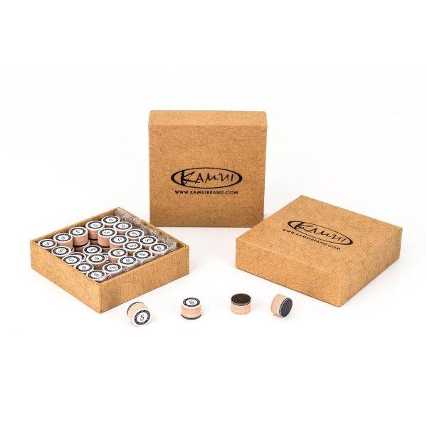 Klebeleder Kamui Clear Brown, 8 Schichten, 13 mm, super soft (SS)