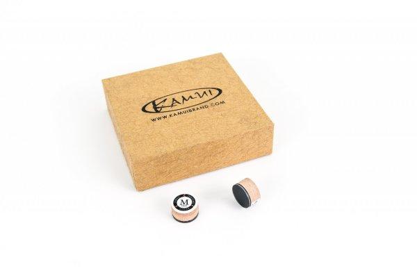 Klebeleder Kamui Clear Original, braun, 14 mm, medium (M)