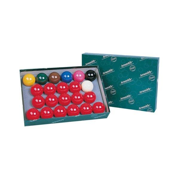 Billardkugelset, Snooker, Aramith Premier, 52,4 mm