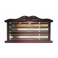 Snooker-Zähltafel, mahagoni