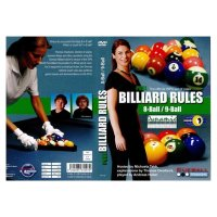 DVD, Pool Billiard Rules 8-Ball/9-Ball, englisch, 76 min.