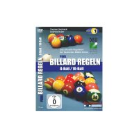 DVD, Pool Billard Regeln 8-Ball/10-Ball, deutsch, 110 min.