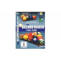 DVD, Pool Billard Regeln 8-Ball/10-Ball, deutsch, 110 min.