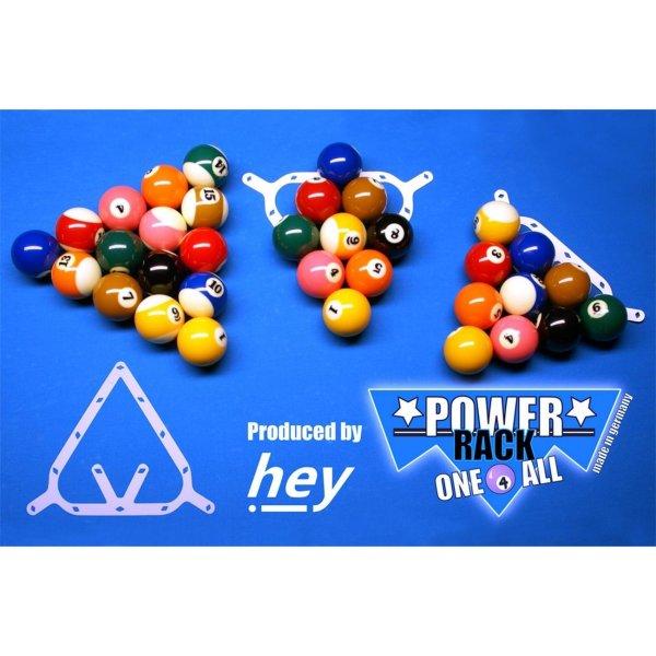 Aufbauhilfe, Power Rack, Pool, one 4 all, (9-Ball,10-Ball,8-Ball)