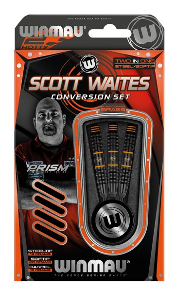 Steeldart Winmau Scott Waites Kombi-Set + Soft  1215-20g