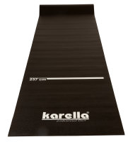 Dartmatte Karella Eco-Star 290 x 60   schw. Poly